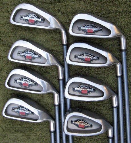 Mens Callaway Golf Irons Set 3-PW Golf Clubs Regular Flex Graphite Shafts