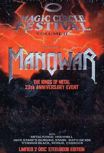 Manowar - Magic Circle Festival #02 (Limited Steelbook) (2 Dvd+Libro)