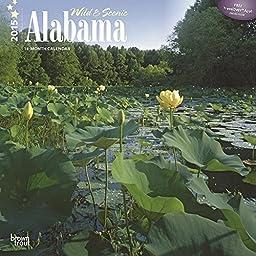 Wild & Scenic Alabama 2015 Wall Calendar by 2015 Calendars