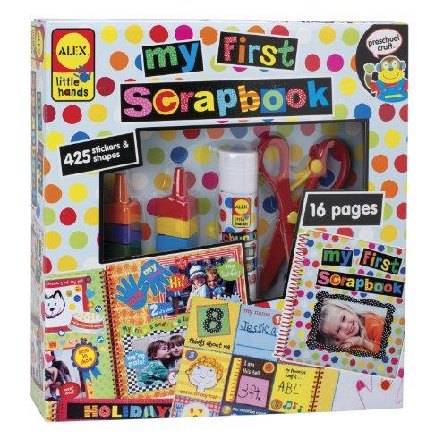 ALEX Toys Little Hands My First Scrapbook - 1