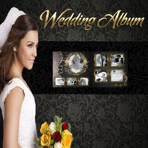 Wedding photo book templates for Wedding photo album templates in photoshop