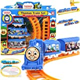 Electric Train Tomas Educational Toys : Handcrafted Electric Train Tomas Set Boy Kids Educational Toys Christmas...