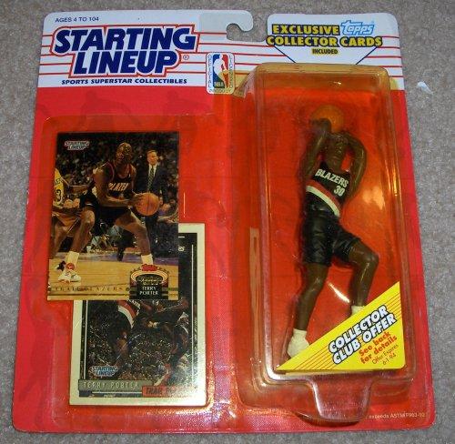 1993 Terry Porter NBA Starting Lineup Figure - 1