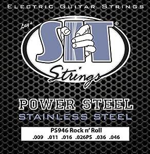 power steel electric guitar strings rock n roll 9 46 musical instruments. Black Bedroom Furniture Sets. Home Design Ideas