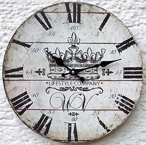 Orologio da parete design vintage lifestyle orologio per cucina o salotto nuovo casa - Orologio parete cucina design ...