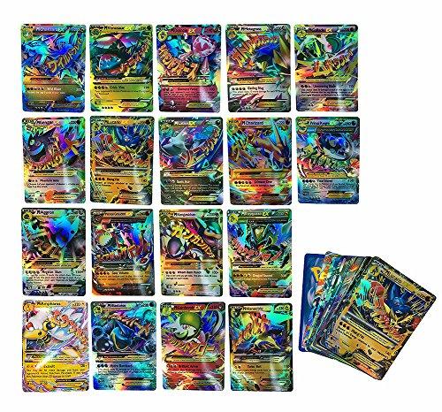 JSMK Pokemon Card Ex Mega Set 20 Pokemon Mega Ex Full Arts No repeat in English
