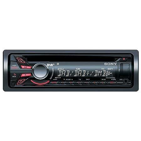 Sony CDXDAB500A Autoradio CD/DVD Noir