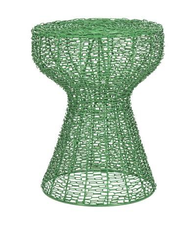 Safavieh Tabitha Iron Chain Stool, Green
