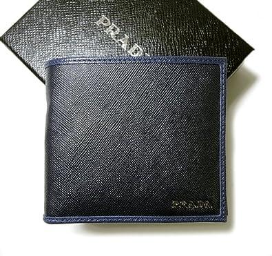 faf224157d05 PRADA☆バイカラー二つ折財布2M0738 P-4201