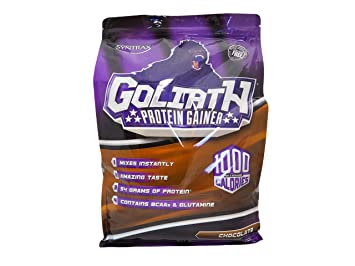 Syntrax Goliath Weightgainer Matrix 12 lbs-Chocolate