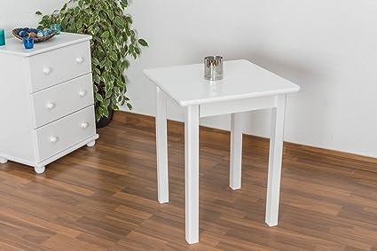 Tisch Holz massiv 60 X 60
