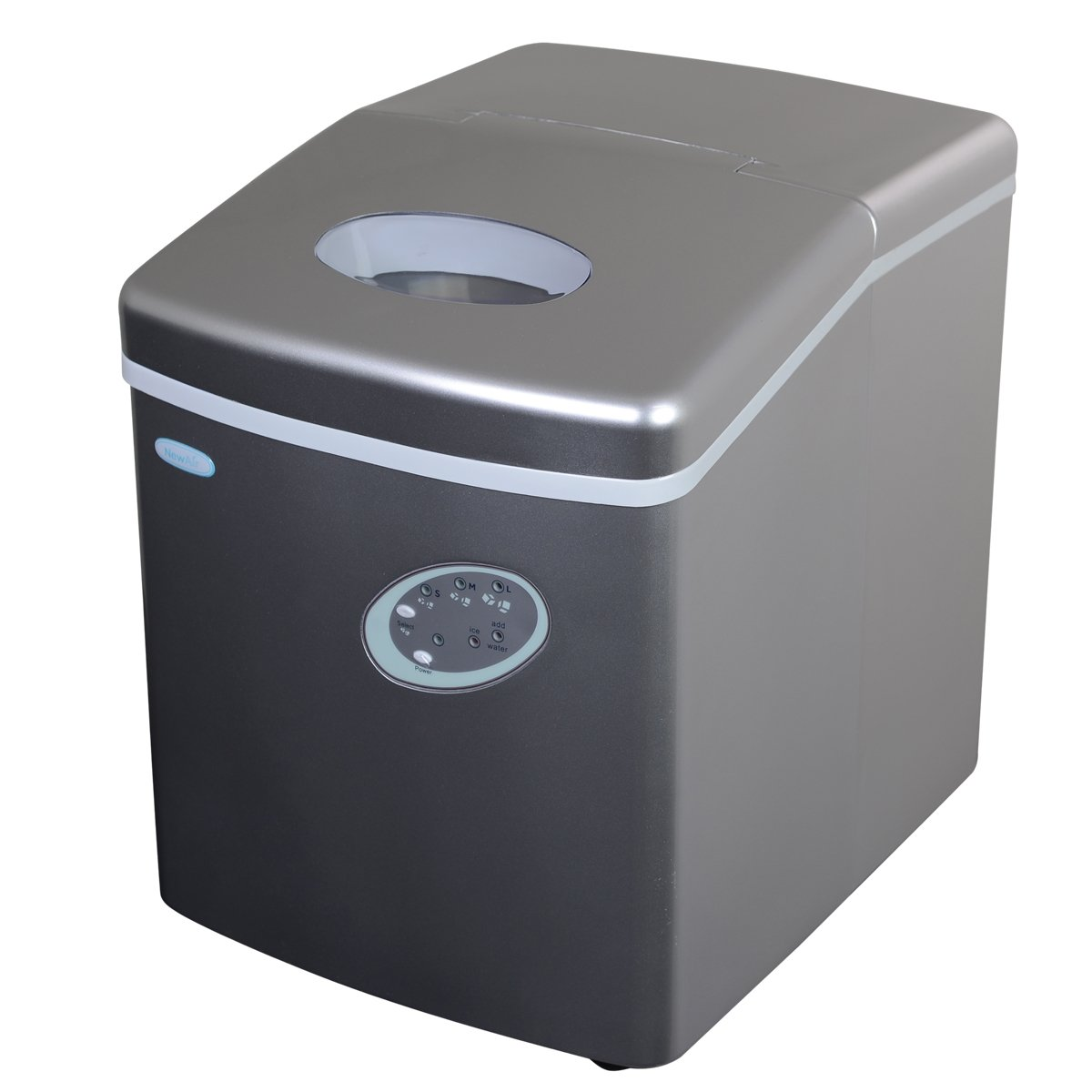 NewAir AI-100S: Portable Ice Maker with Convenient and Compact Design