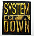 System of a Down Patches (Gold&black)...
