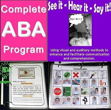 Autism Program ABA Based Curriculum - DIY - Run Your Own Intervention Plan!