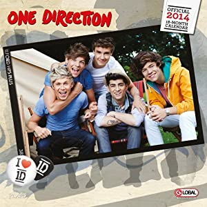 One Direction 2014 Square 12x12 from BrownTrout Publishers