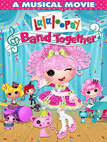 amazoncom lalaloopsy band together erica cukulin