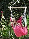 Prinzessin-Hängesessel Kuschelsessel Madeira 'Pink' incl. 2 Kissen