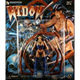 WIDOW * BLUE VARIANT * Avatar Press 6� Inch RENDITION 1998 Action Figure ~ Rendition