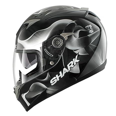 SHARK - Casque moto Shark S900C GLOW 3 PINLOCK - Taille: S - Couleur: Noir/Blanc