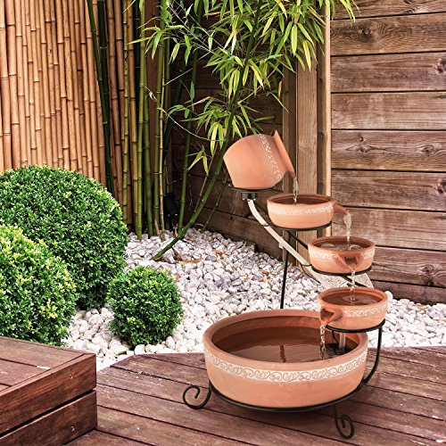 gartenbrunnen 2 schalen bestseller shop. Black Bedroom Furniture Sets. Home Design Ideas