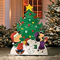 Peanuts Gang Caroling Around the Tree…