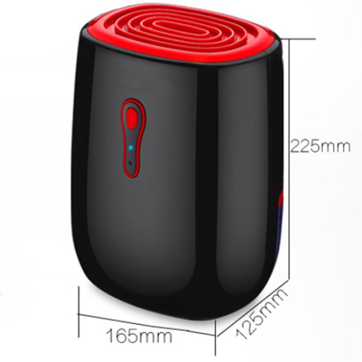 Portable Dehumidifier 550ML Electric Mini Dehumidifier for Closets, Bathrooms, Boats, Kitchens and Other Small Rooms & Spaces