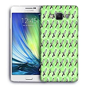 Snoogg Axe And Sword Designer Protective Phone Back Case Cover For Samsung Galaxy ON5