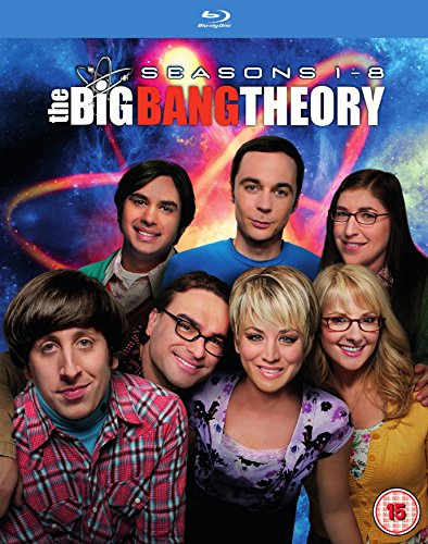 The Big Bang Theory - Season 1-8 [Blu-ray] [Region Free] [UK Import]