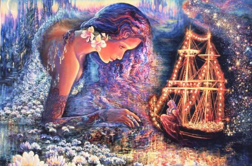 Star Ship, 3-D Visions (Dynamic Dimensional Depth) | 500 Piece Puzzle by Rose Art - 1