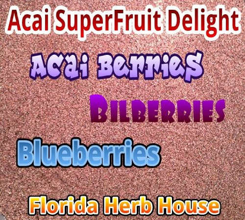 Acai Triple Berry Juice Powder Delight, 4 Oz
