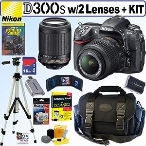 Nikon D300s 12MP CMOS Digital SLR Camera with 18-55mm f/3.5-5.6G AF-S DX