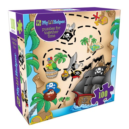 DB & Company Treasure Hunt Puzzle (100-Piece)