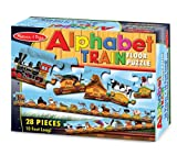 Melissa & Doug Alphabet Train Floor - 28 pc-
