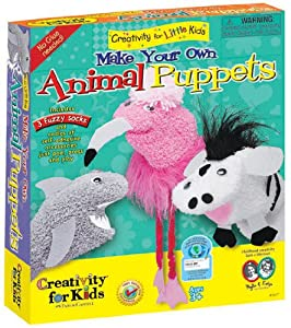 Creativity For Kids Make Your Own Animal Puppets by Faber-Castell