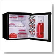 Danby 1.8 cu.ft. All Refrigerator Black