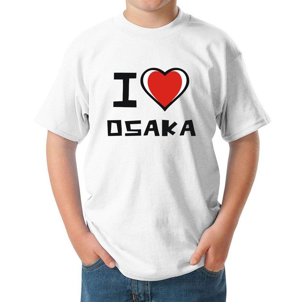 I love Osaka ボーイズ Tシャツ