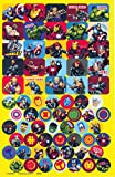 Marvel Avengers Stickers ~ 270+ Stickers ~ Captain America, Thor, The Hulk, Iron Man, and More!