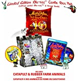 Monty Python and the Holy Grail Limited Edition Castle Catapult Gift Set Bilingual [Blu-ray]