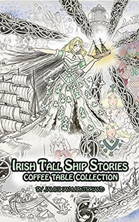 irish tall ship stories coffee table collection english. Black Bedroom Furniture Sets. Home Design Ideas