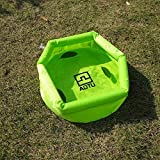Imported 8L Foldable Inflatable Water Washbasin Portable Wash Bag Camping Basin Green