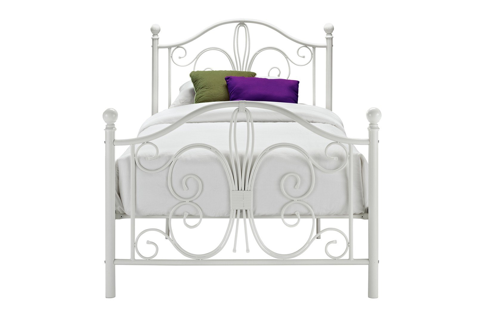 Wayfair Bed Frames Bed Frame Bed Frame Found It At Taro: DHP Bombay Metal Bed, Twin, White