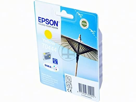 Epson Stylus C 86 Photo Edition (T0444 / C 13 T 04444010) - original - Inkcartridge yellow - 420 Pages - 13ml