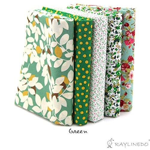 raylinedor-5x-different-pattern-green-100-cotton-poplin-fabric-fat-quarter-bundle-46-x-56cm-appox-18