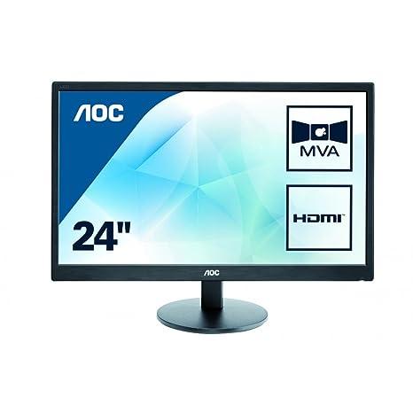 "AOC M2470Swh Ecran PC LED 23,6"" 1920 x 1080 5 ms VGA/DVI/HDMI"