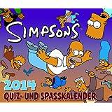 Die Simpsons Abreißkalender 2014: Die Simpsons 365-Tage-Quiz- und Spaßkalender 2014