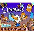 Die Simpsons Abrei�kalender 2014: Die Simpsons 365-Tage-Quiz- und Spa�kalender 2014