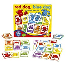 Orchard Toys Red Dog, Blue Dog