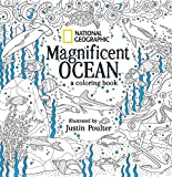 img - for National Geographic Magnificent Ocean: A Coloring Book book / textbook / text book
