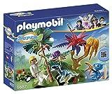 Playmobil 6687 - Super 4: L'Isola Perduta con Alien e Raptor