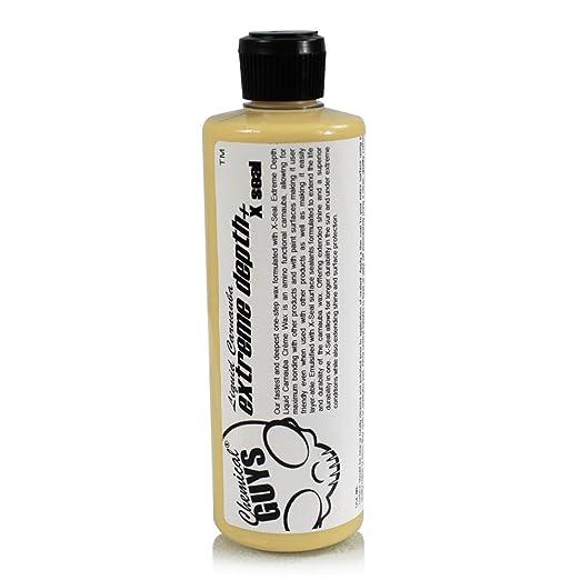 Chemical Guys WAC11116 Extreme Depth Liquid Carnauba Creme Wax + X-Seal